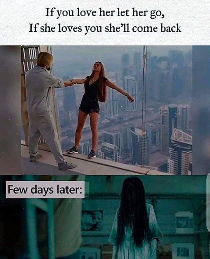 כדי לומר לילדה שאתה אוהב אותה אם אינך בטוח שהיא אוהבת אותך בחזרה
